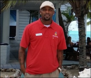 Darnley Daniel conducting a tour of Providenciales