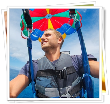 Parasailing, Kiteboarding and Sailing Activities in Provo, TCI